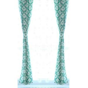 ( One Panel )Nordic Simple Geometric Pattern Curtains Advanced Customization