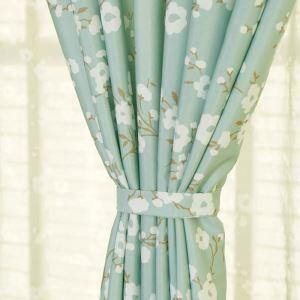 ( One Panel )American Pastoral Curtains Advanced Customization Printing Pattern