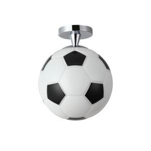 Football Bedroom Ideas Semi Flush Mount Ceiling Light for Boys' Room and Girls' Room