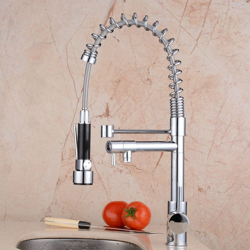 Kitchen Sink In Bangladesh: Kitchen Sink Faucet With Sprayer Multifunctional Tap