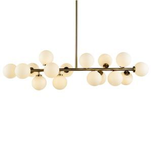 Nordic Creative Personality Magic Bean Lighting Postmodern Simple Living Room Dining Room Bedroom Chandelier 16 Lights
