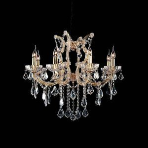 Nordic Modern Gold Crystal Chandelier Living Room Dining Room Bedroom Lighting 8 Lights