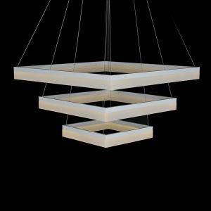 Nordic Modern LED Light Light Yellow Square Restaurant Bar Simple Creative Pendant Light 3 Lights
