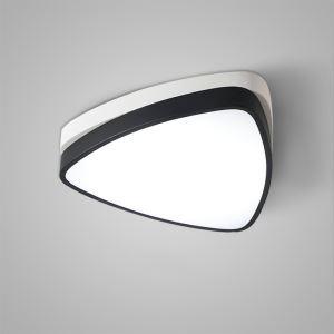 Nordic Modern LED Flush Mount White Triangle Bedroom Living Room Kitchen Lighting