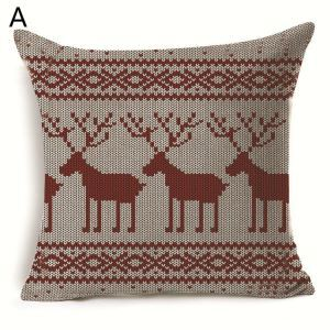Christmas Deer Christmas Tree Christmas Theme Pillowcase 7 Options