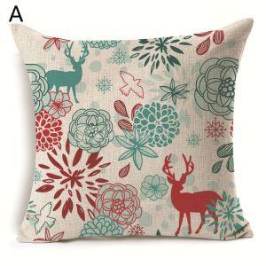 Christmas Deer Christmas Theme Pillowcase 6 Options