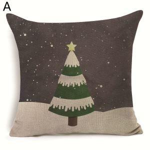 Christmas Tree Christmas Theme Pillowcase 7 Options
