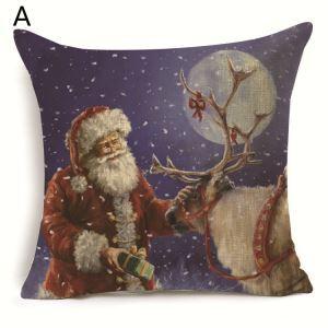 Santa Claus Christmas Theme Pillowcase 7 Options