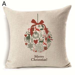 Christmas Decoration Christmas Theme Pillowcase 7 Options