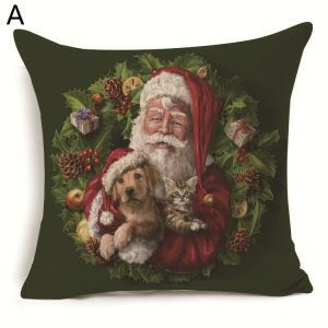 Santa Claus Christmas Theme Pillowcase 7 Options