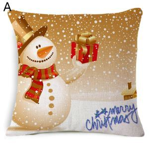Christmas Snowman Christmas Gift Christmas Theme Pillowcase 5 Options