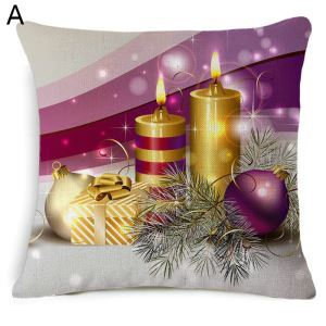 Christmas Theme Pillow Merry Christmas Pillowcase 5 Options