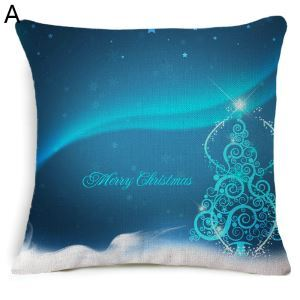 Christmas Theme Pillowcase Christmas Decorative Pillowcase 5 Options