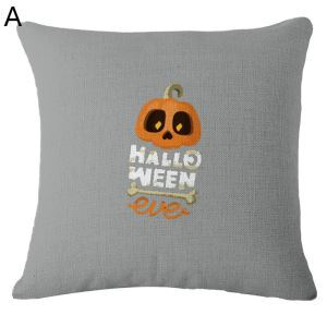 Simple Halloween Theme Pillow Halloween Pillowcase Halloween Decorative Pillowcase 7 Options