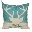Antler Christmas Theme Pillowcase 5 Options