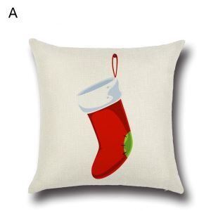 Christmas Stocking Christmas Theme Pillowcase 6 Options