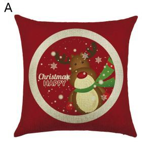 Christmas Pillow Christmas Deer Christmas Gift Christmas Tree Christmas Theme Pillowcase 6 Options