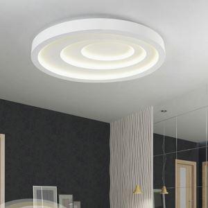 Modern Simple Style Living Room Dining Room Bedroom Elliptical ripple LED Flush Mount