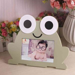 Korean Creative Cartoon Animal Table Decoration Solid Wood Photo Frame
