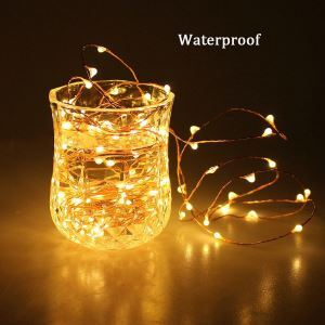 Firefly DIY Copper Wire Lights LED String Lights 40 Lights