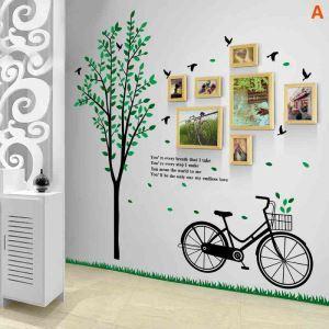 Modern Simple Photo Frame Home Decor Solid Wood Photo Wall Photo Frame 7 pcs/set