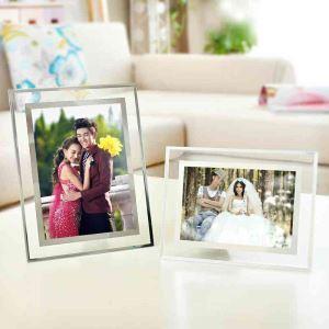 Modern Simple Photo Frame Creative Home Decor Glass Photo Frame