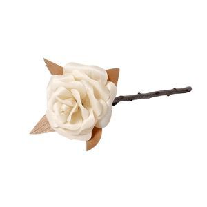 HomeLava Artificial Rose Handmade Rose 1PCS RS001 Wooden DIY Rose(Flower and Tools Not Included)