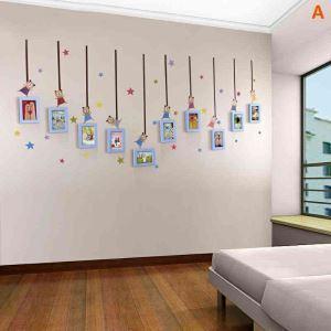 Modern Simple Photo Frame Home Decor Solid Wood Photo Wall Photo Frame 10 pcs/set