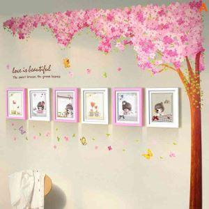 Korean Home Decor Solid Wood Photo Wall Photo Frame 6 pcs/set