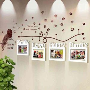 Modern Simple Photo Frame Home Decor Solid Wood Photo Wall Photo Frame 4 pcs/set