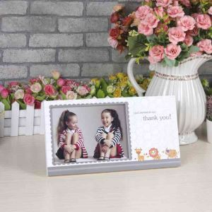 Modern Simple Exquisite Printing Home Decor Solid Wood Photo Frame