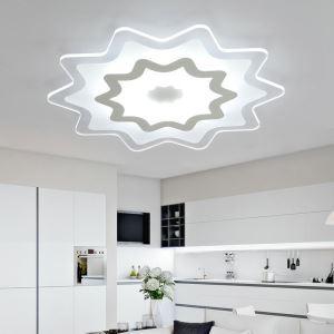 Modern Simple LED Flush Mount Multi-pointed Star Shape Dining Room Bedroom Lighting