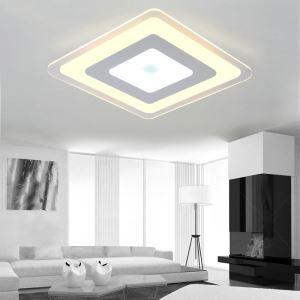 Modern Simple LED Flush Mount Diamond Dining Room Bedroom Lighting