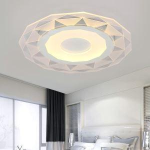 Modern Simple LED Flush Mount Geometric Shape Dining Room Bedroom Lighting