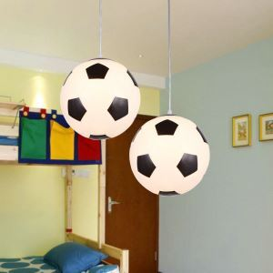 Modern Simple Football Pendant Light Dining Room Kids Room Bedroom Light