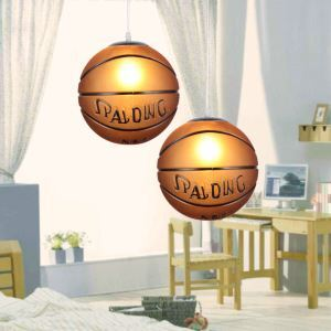 Modern Simple Basketball Pendant Light Dining Room Kids Room Bedroom Light
