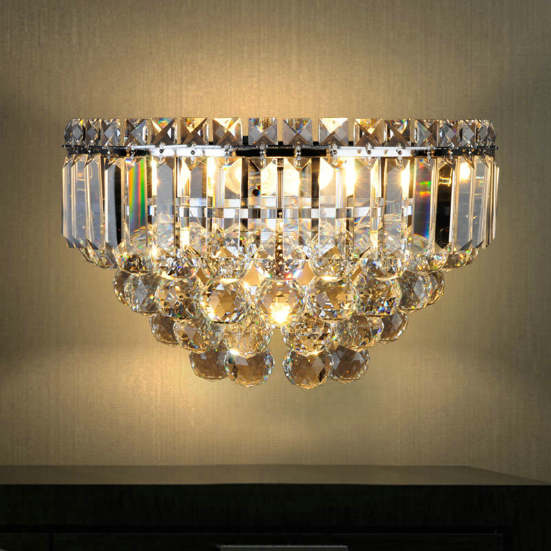 Nordic Simple Style Crystal Wall Light