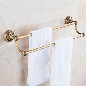 European Antique Copper Towel Bar Towel Rack