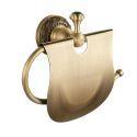 European Antique Copper Toilet Roll Holder