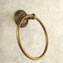 Towel Ring for Bathroom Copper Brushed Finish Retro Bathroom Towel Ring