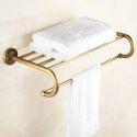 Towel Rack for Bathroom Copper Brushed Finish Retro Bathroom Towel Bar