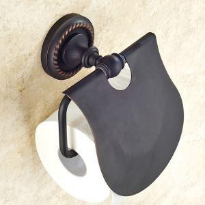 Toilet Roll Holder for Bathroom Oil Rubbed Bronze Craft Black Retro Copper Toilet Roll Holder