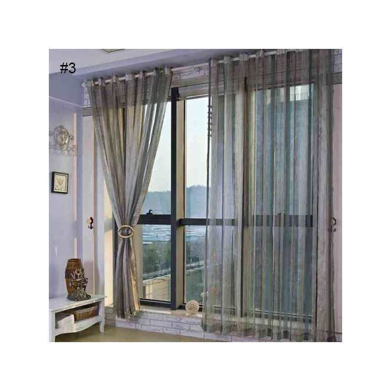 Traditional Window Treatments Living Room: Custom Sheer Curtain Kent Traditional Window Treatment
