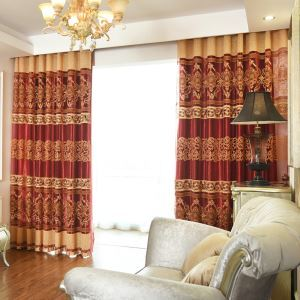 Modern European Sheer Curtain Living Room Bedroom