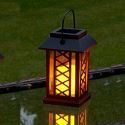 Solar Candle Lantern Outdoor Decorative Solar Powered Candle Light LEH-55154