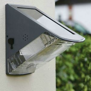 Motion Sensor Wall Light Solar Powered Outdoor Wall Light LEH-53369