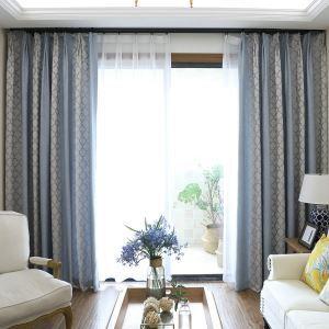 Cotton Room Darkening Modern Minimalist Blackout Curtain Living Room