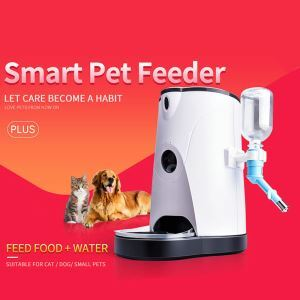 Automatic Pet Feeder Controlled by Iphone, Andriod or Other Smart Devices