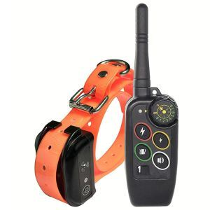 Dog Training Collar Remote Training Dog Device Waterproof IP7 Remote Control Orange