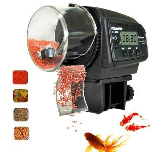 Digital Automatic Fish Feeder Aquarium Fish Feeder Auto Food Timer Feeder